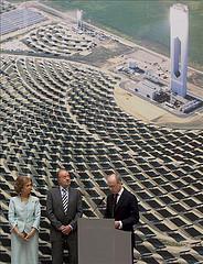 Energía solar planta PS-20