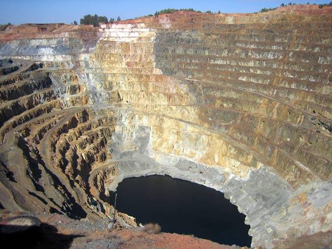 Una mina a cielo abierto