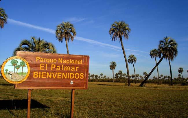 Parque Nacional de El Palmar en Argentina
