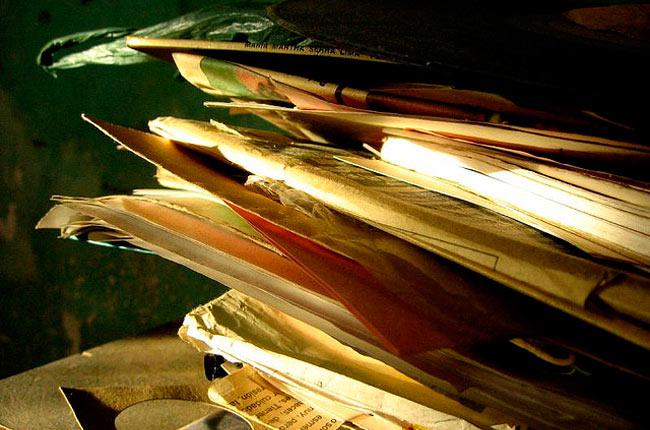 Tipos de papel reciclado
