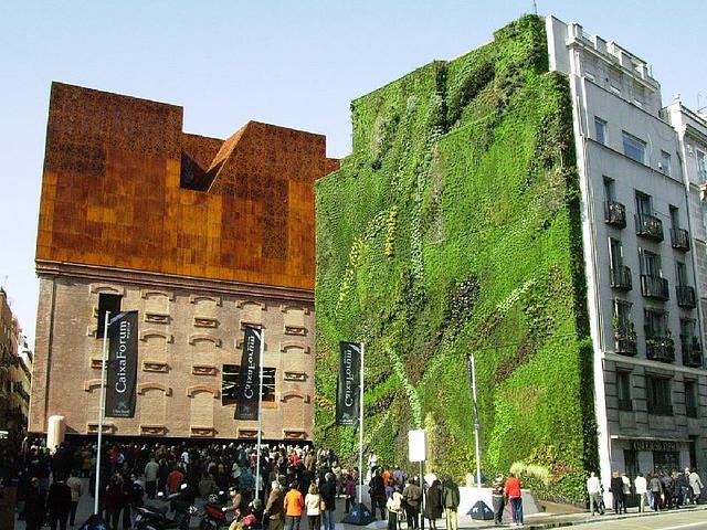 Jardines verticales arquitectura verde ecogestos for Jardines verdes verticales