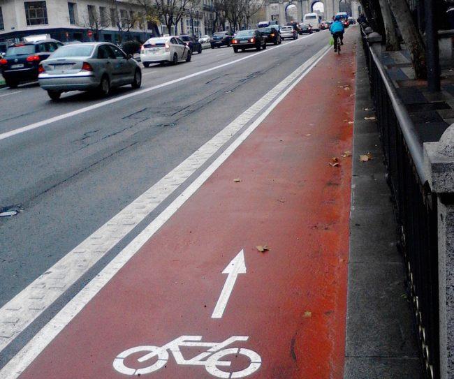 Madrid se sube a la bici por una ciudad sostenible