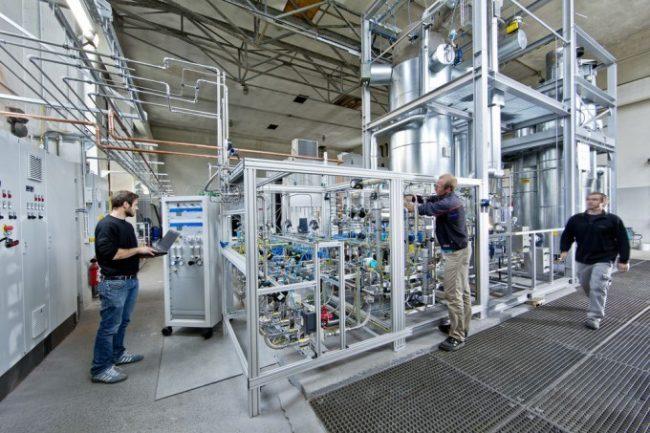 Audi fabricará combustible usando energía solar