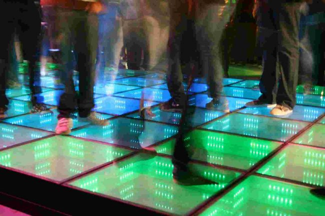 Bailar para generar energía