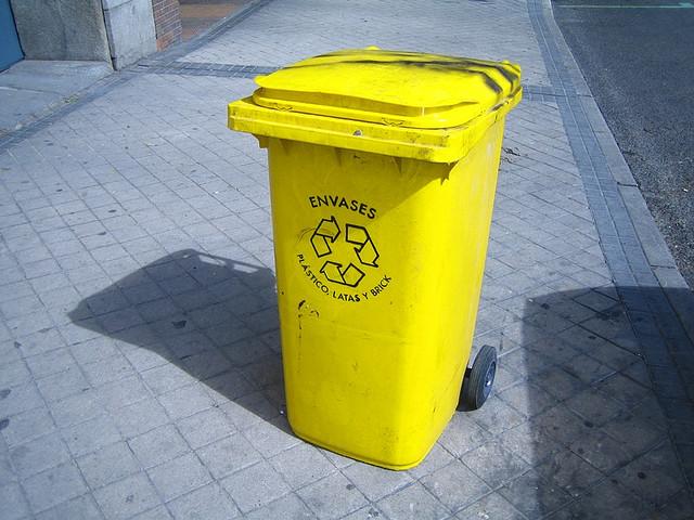 cómo separar la basura